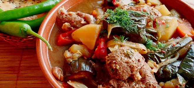 Чанахи по-грузински – рецепт