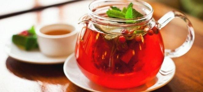 чай с клюквой и медом рецепт