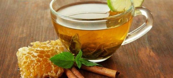 чай с корицей и медом