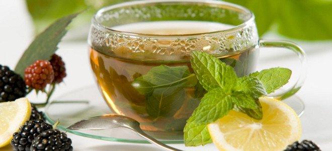 Чай с мятой и лимоном - рецепт