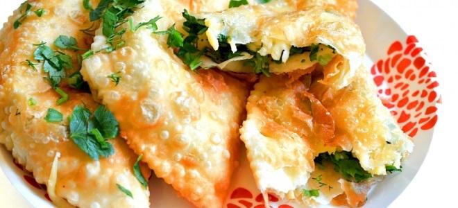чебуреки с адыгейским сыром рецепт