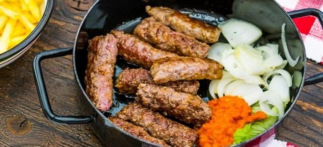 Чевапчичи рецепт колбаски из черногорской сказки! Рецепт 17