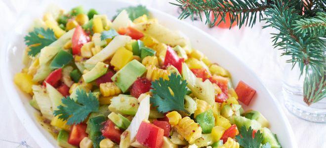 детский салат с кукурузой