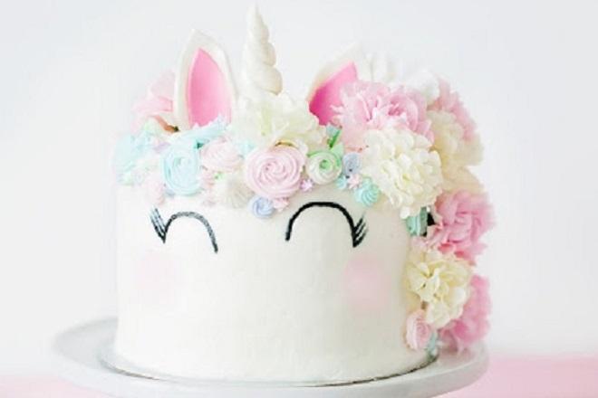 Детский торт из мастики для девочки 5