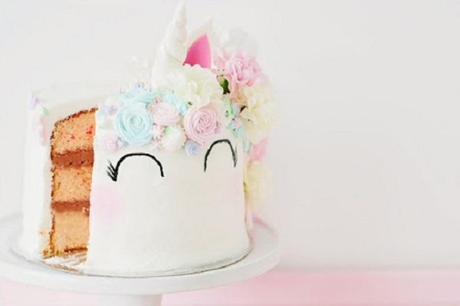 Детский торт из мастики для девочки 6