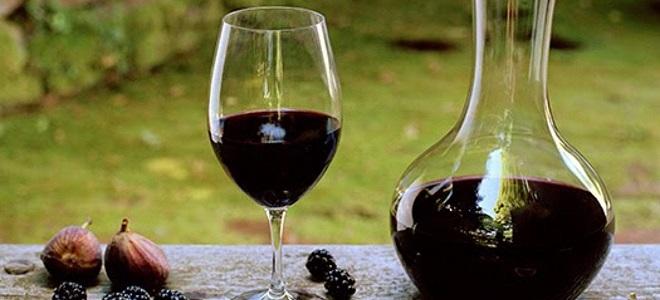 домашнее вино из ежевики с медом