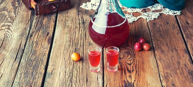 Домашнее вино из сливы - простой рецепт