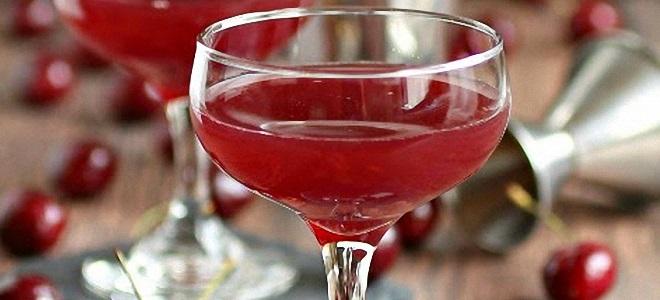 домашний вишневый ликер рецепт