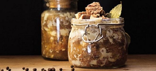 Тушенка из свинины в домашних условиях - рецепты в кастрюле, мультиварке, автоклаве и скороварке