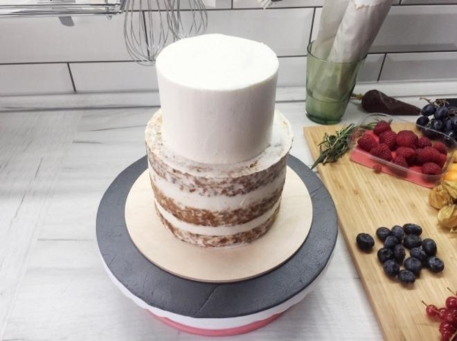Торт двухъярусный рецепт с фото пошагово