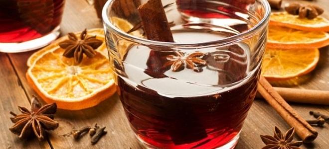 Глинтвейн из виноградного сока – рецепт