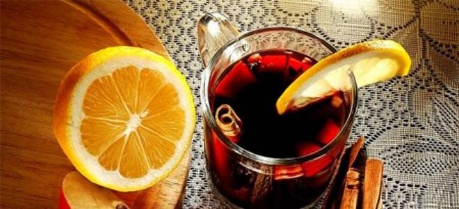 Глинтвейн из вишневого сока