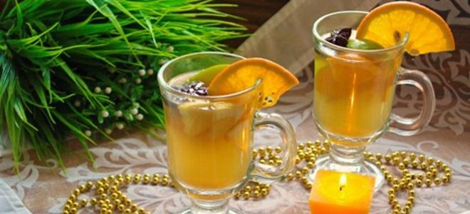 Глинтвейн с апельсиновым соком