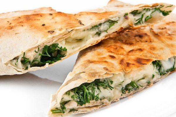 Хачапури с творогом и зеленью рецепт