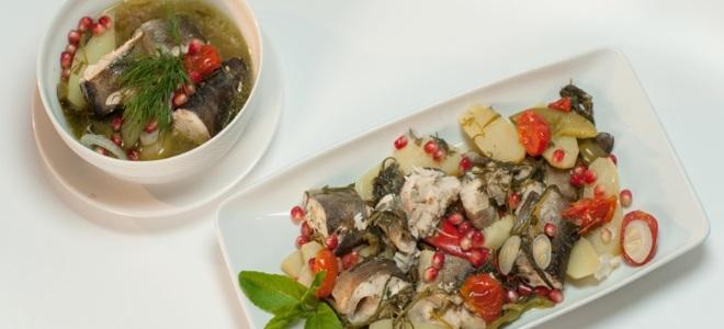 хашлама из рыбы – рецепт
