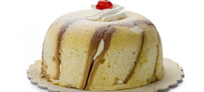 итальянский десерт зукотто