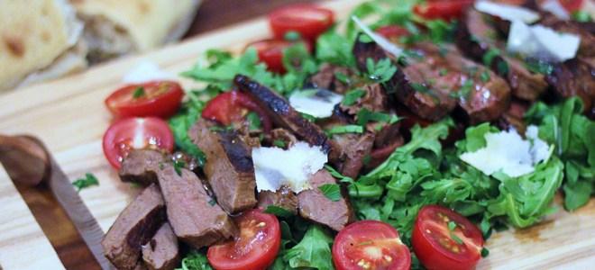 итальянский теплый салат