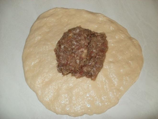 как лепить беляши с мясом 6