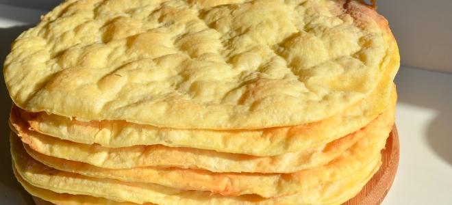 рецепты с коржами наполеон