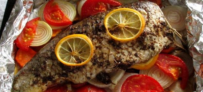 Сазан в духовке рецепты с фото