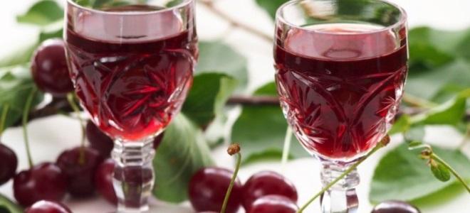 как сделать вино из вишни с водкой