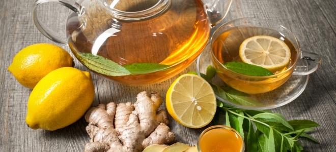 Как сделать вкусный чай с лимоном