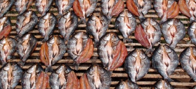 Сухая рыба рецепт #6