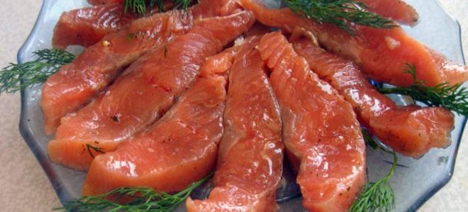 Горбуша соленая сухим способом - рецепт пошаговый с фото