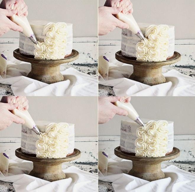 кого-то украшение тортов кремом пошаговые фото инструкции первую очередь