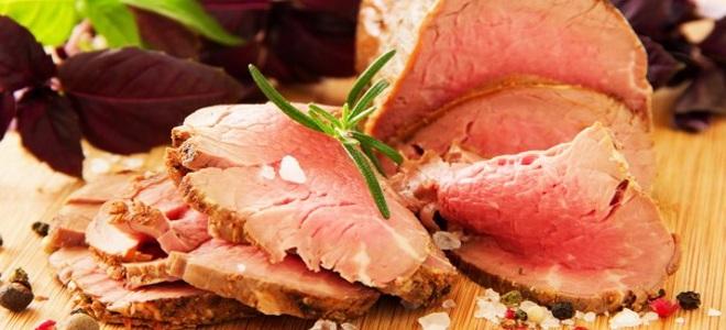 как замариновать говядину для запекания в духовке