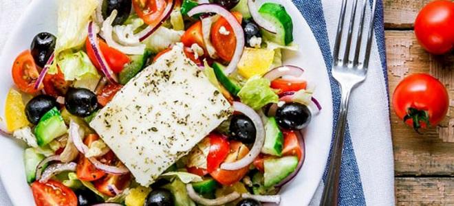 какой сыр лучше для греческого салата