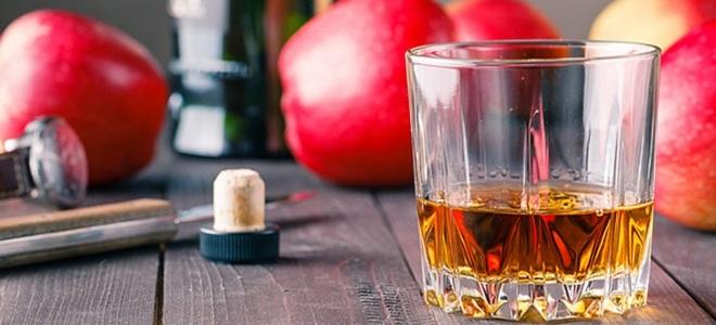 кальвадос из концентрата яблочного сока