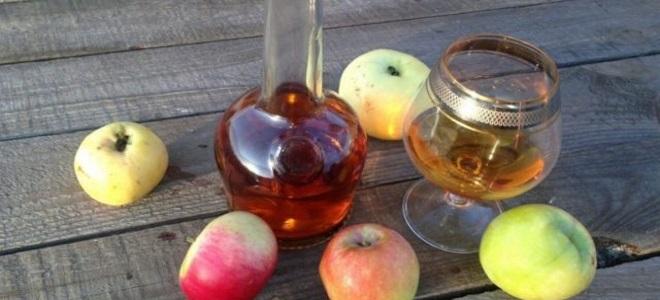 кальвадос из яблочного пюре