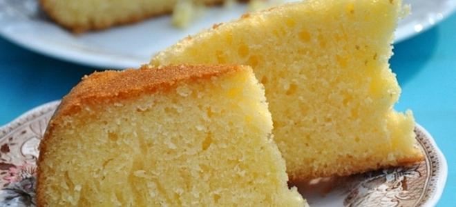 Кекс лимонный рецепт классический со сметаной