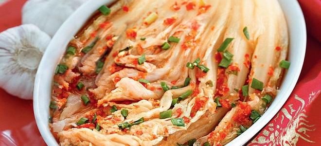 Кимчи по-корейски из пекинской капусты