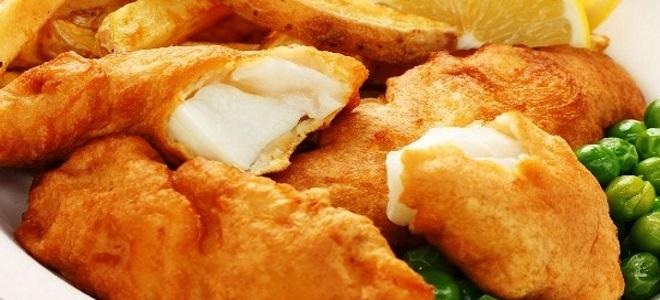 кляр для рыбы рецепт простой с яйцом