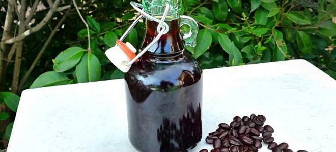 Кофейная настойка на самогоне