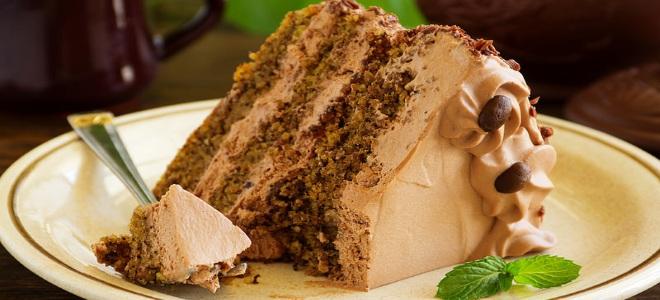 Кофейный крем для торта или бисквита - рецепт пошаговый с фото