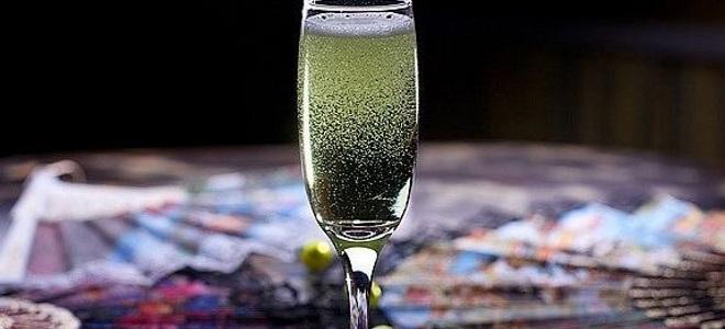 коктейль абсент с шампанским