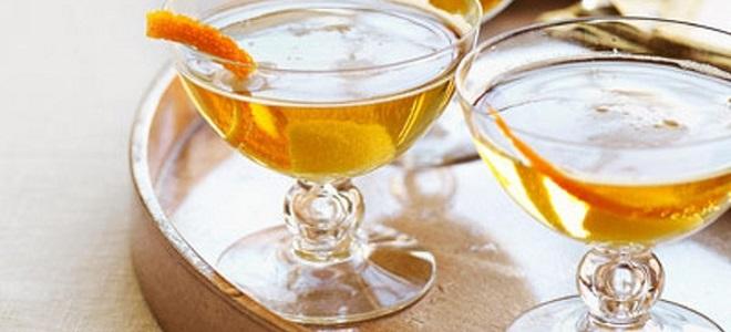 коктейль мартини с шампанским рецепт