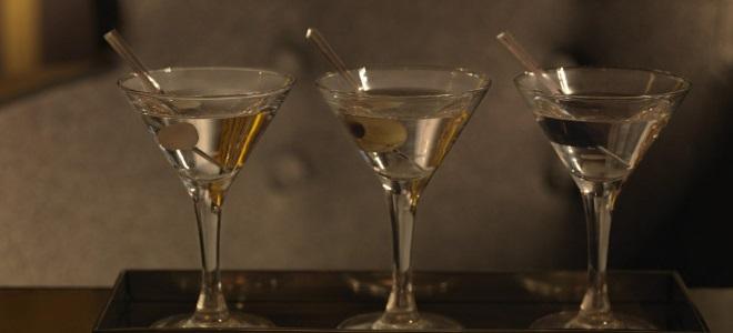 Коктейль мартини с водкой - рецепт