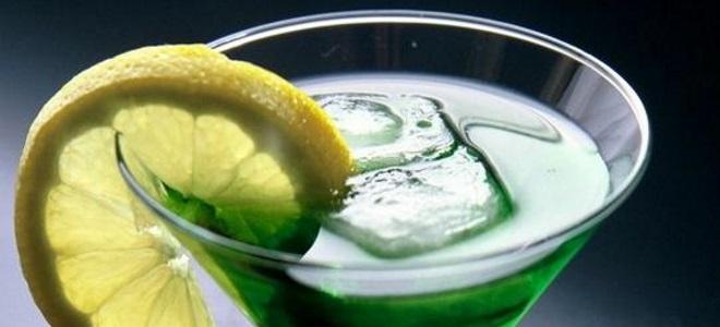 коктейль с абсентом зеленая фея рецепт