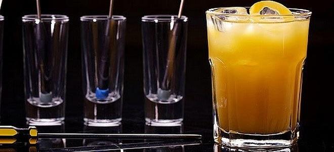 Коктейль водка с апельсиновым соком