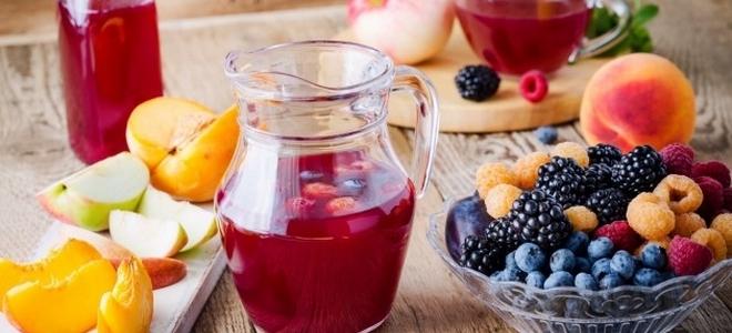 компот ассорти из ягод на зиму рецепт