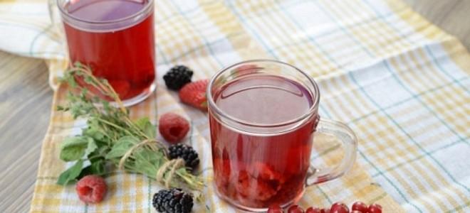 компот из лесных ягод рецепт на зиму