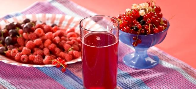 компот из малины и смородины на зиму