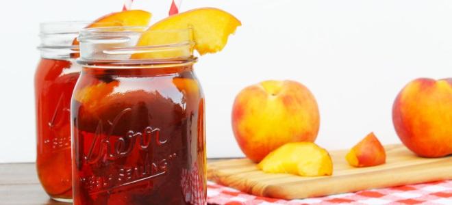 концентрированный компот из персиков на зиму