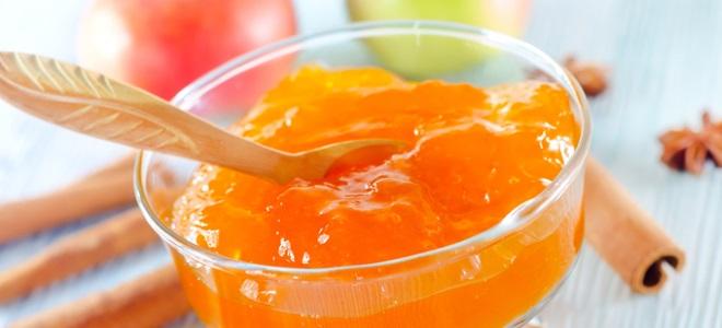 Конфитюр из яблок с желатином на зиму