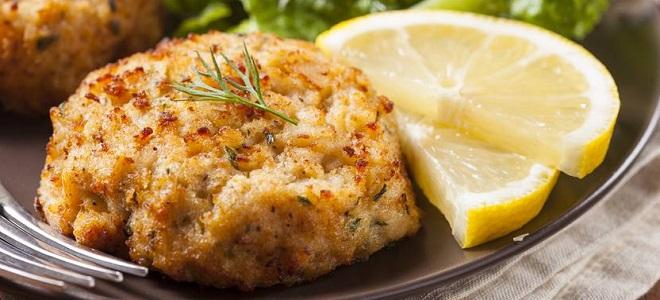 Рыбные котлеты рецепт в духовке без хлеба 79