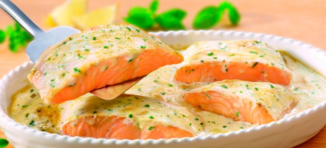 сырный соус к красной рыбе рецепт